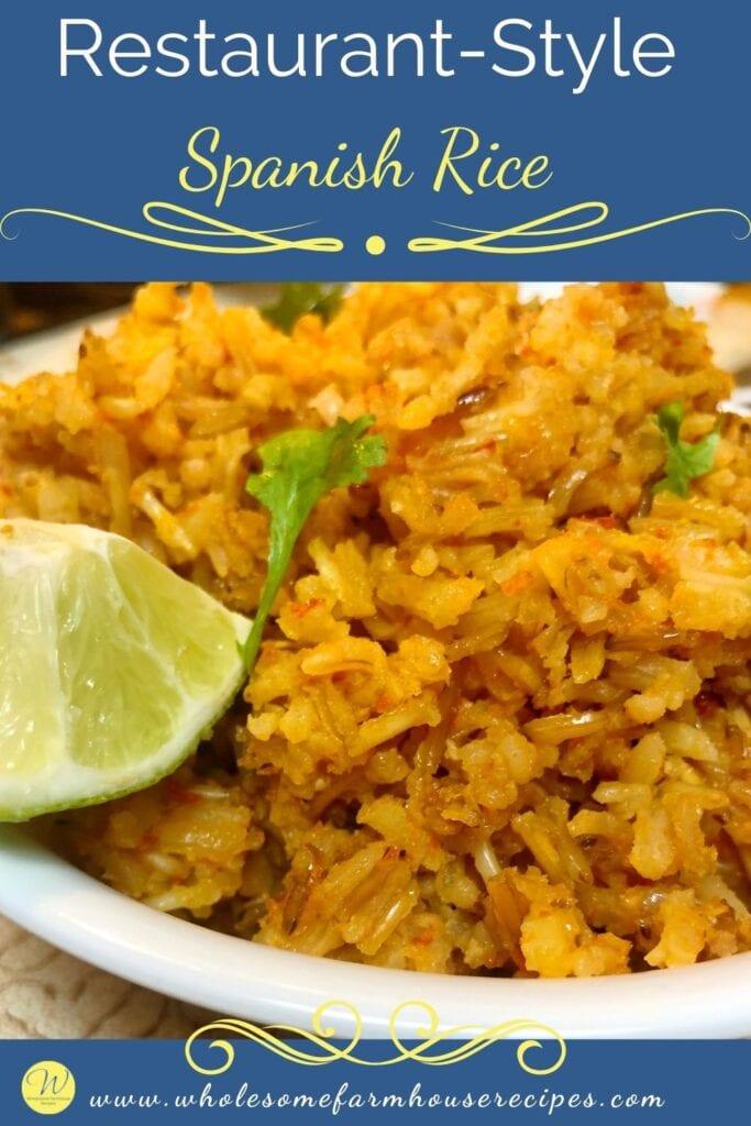 Restaurant-Style Spanish Rice