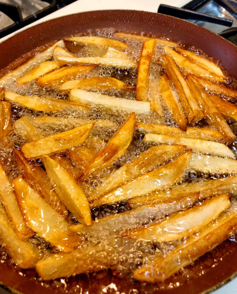 French Fries in Oil