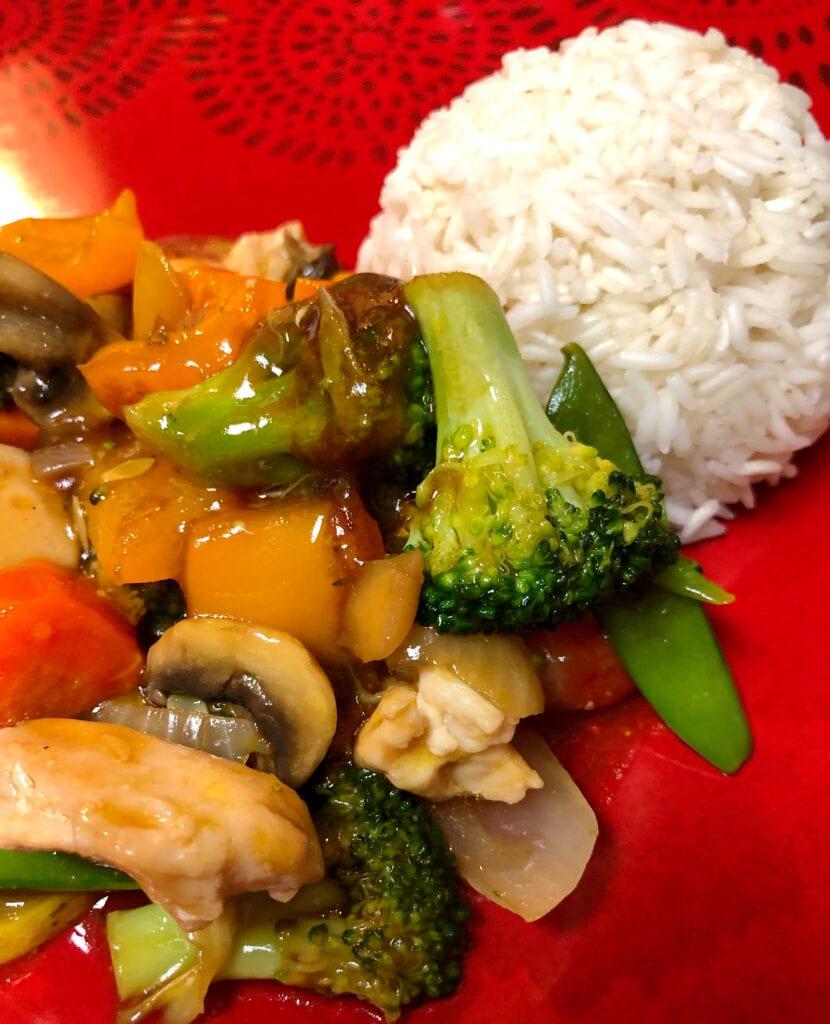Chicken Stir-Fry with Vegetables