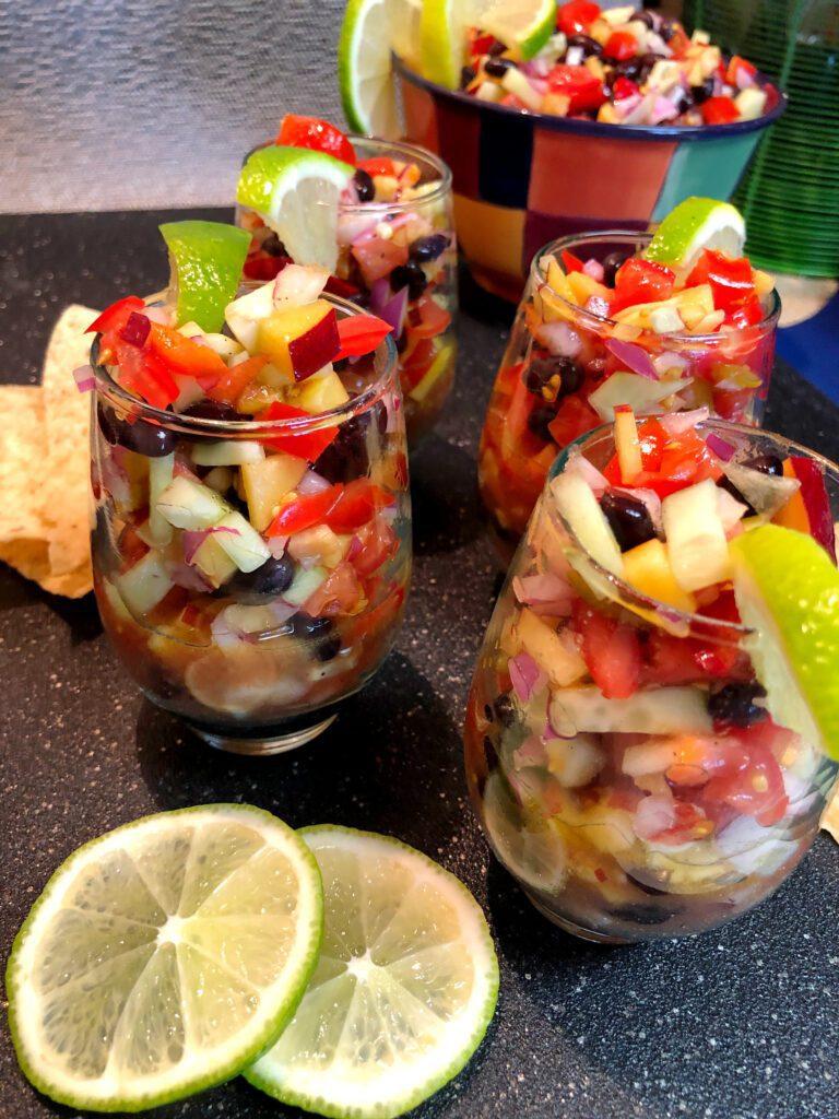 Summertime Fresh Fruit and Vegetable Snack