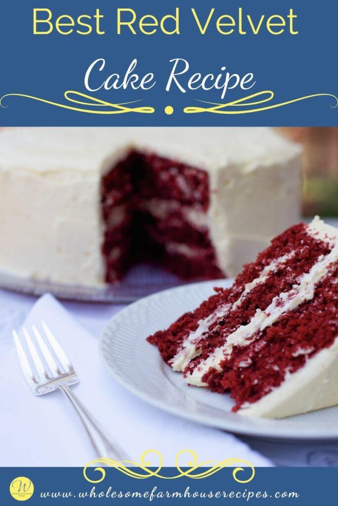 Best Red Velvet Cake Recipe