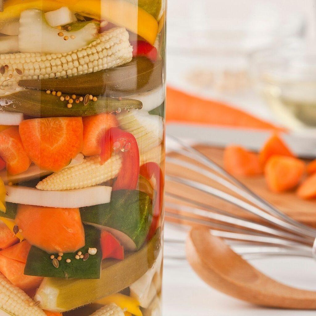 Pickling Vegetables