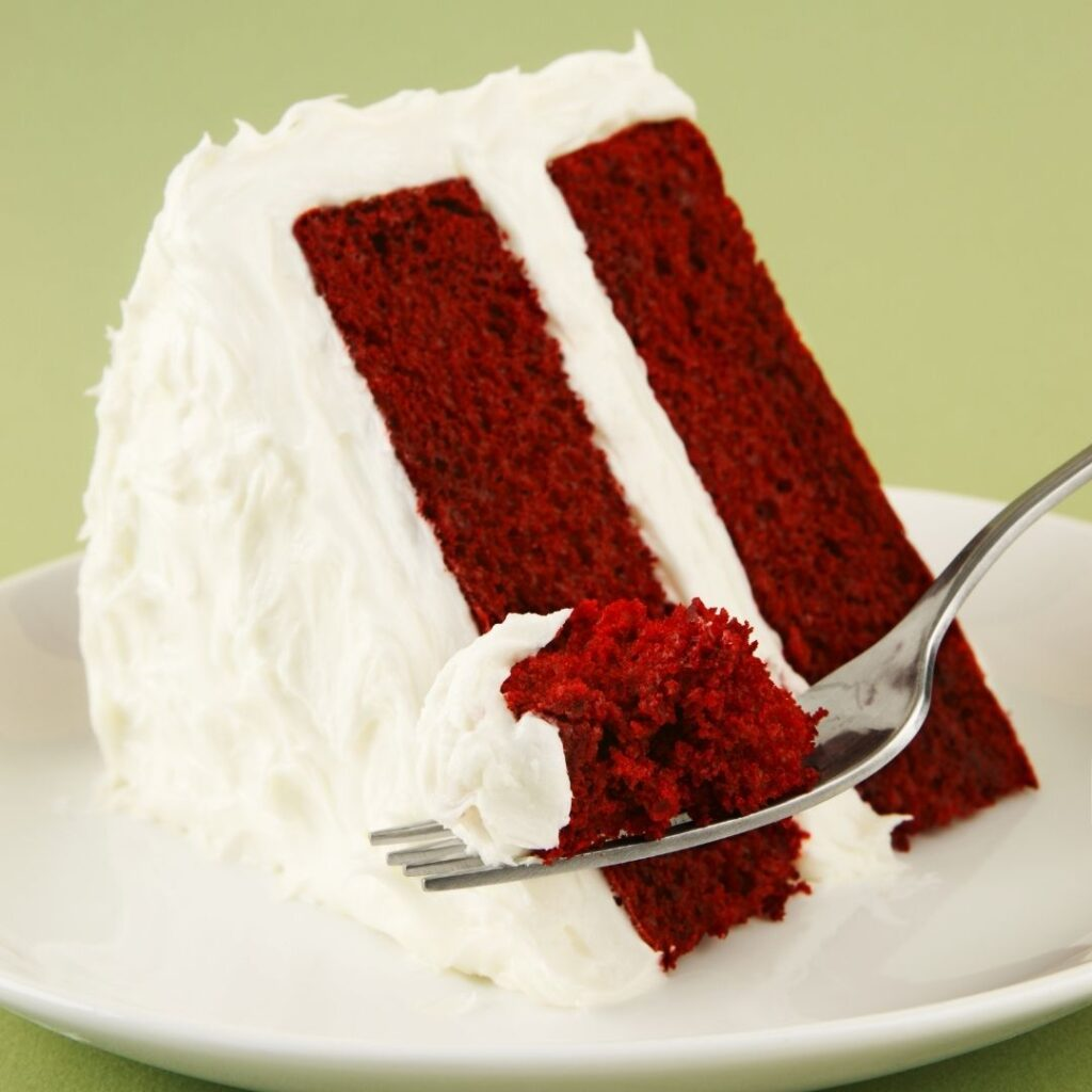 Two-Layered Cake with Cream Cheese Frosting