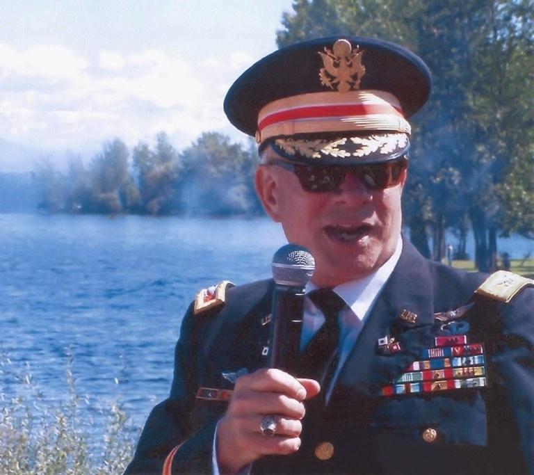 Battle narrator, Colonel Fitz-Enz