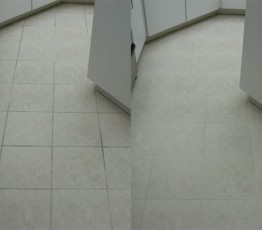 Tile and Grout Cleaning - Before and After
