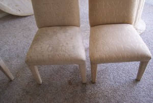Before & After Upholstery Cleaning - Noblesville