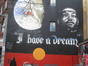 I Have a Dream Mural on King Street, Newtown