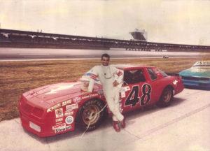 Tony at NASCAR