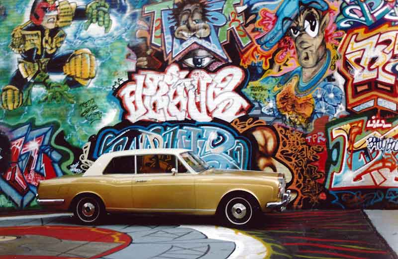 Tonys Gold Rolls at Graffiti Hall of Fame