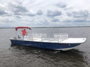 Smaller Open Boat