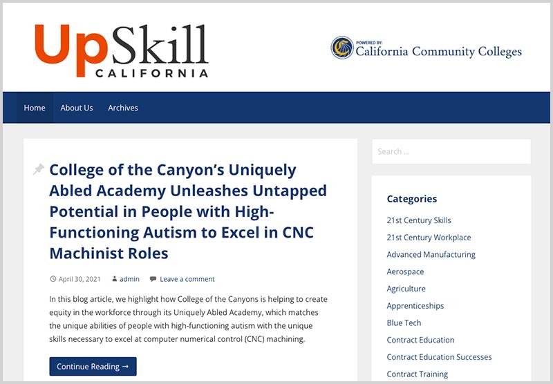 UpSkill California Blog