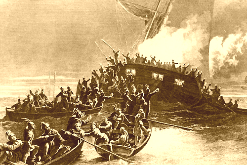 We Burned a British Ship *Before* the Tea Party, and refused to Sign the Constitution until the Bill of Rights Was Added