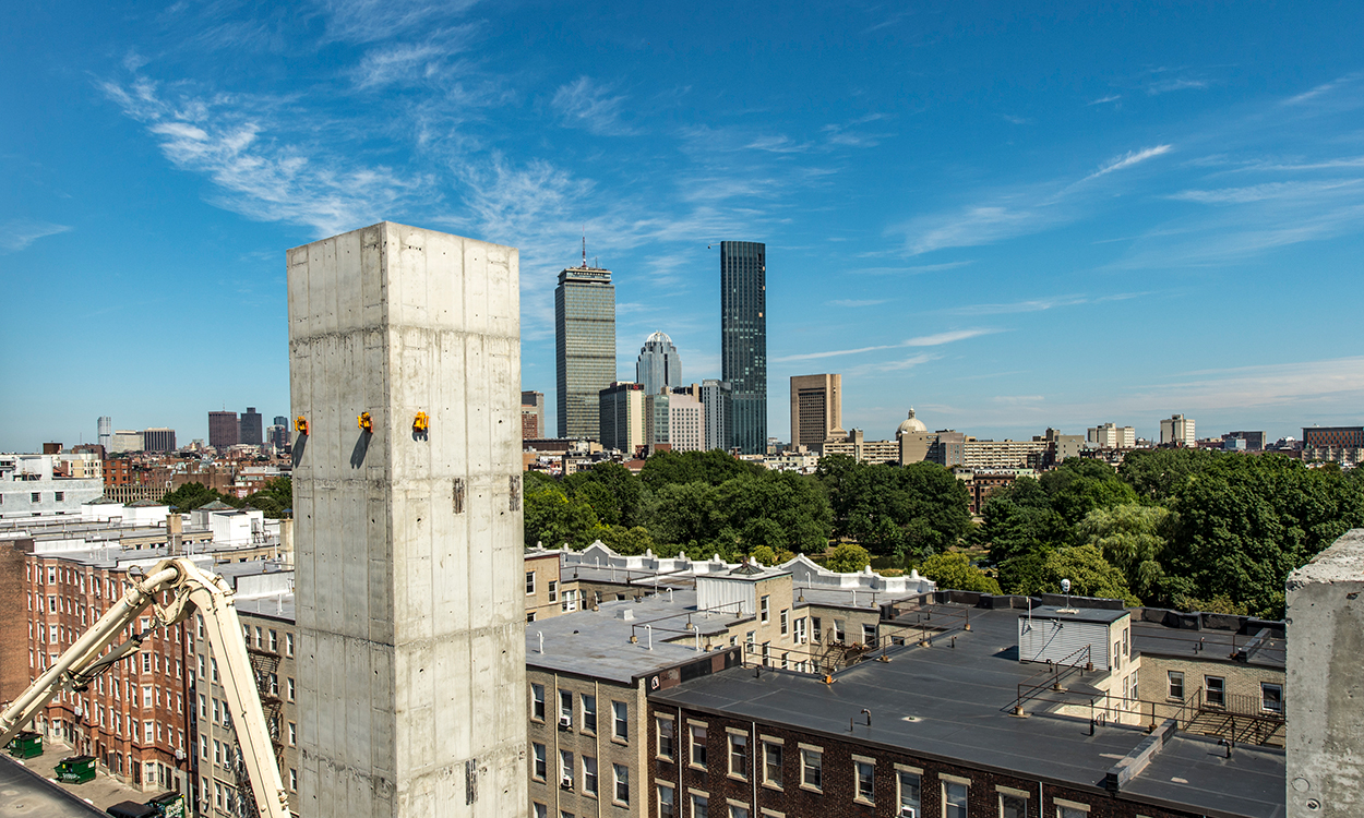 Boston Arts Academy Crane Shoot
