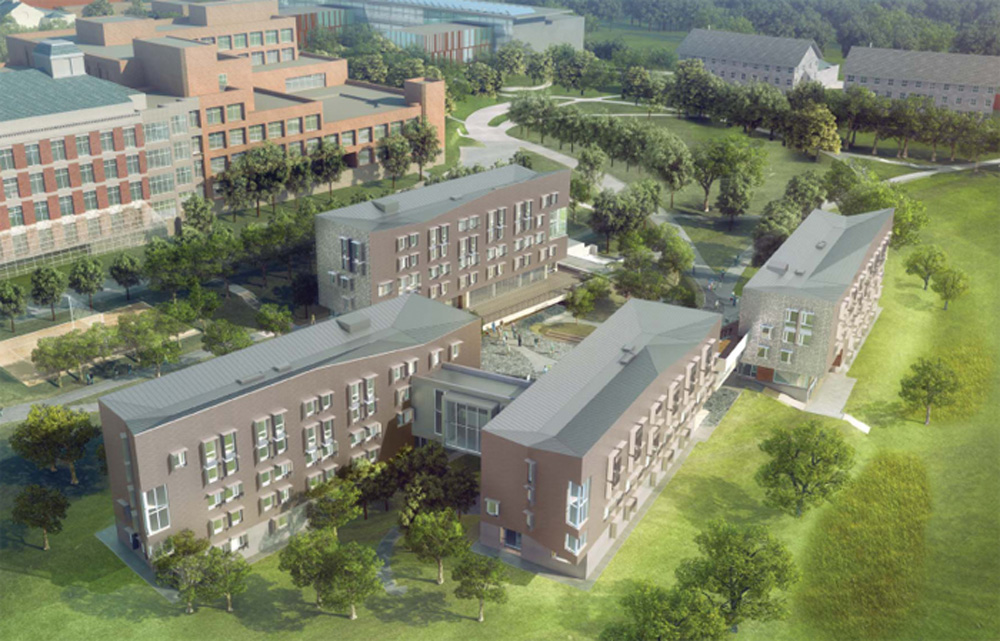 Greenway Dorms at Amherst College – Amherst, MA