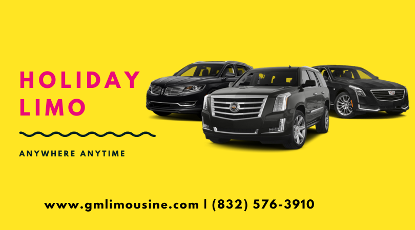 Holiday Limo Deals in Houston