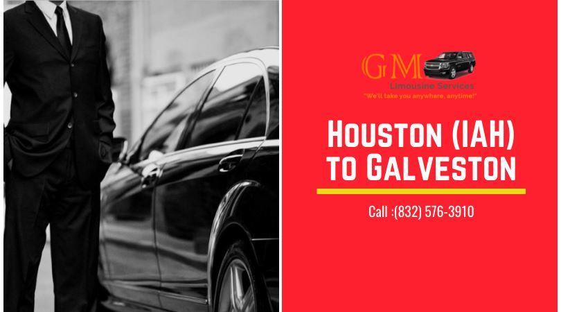 Limo Service From Houston IAH to Galveston
