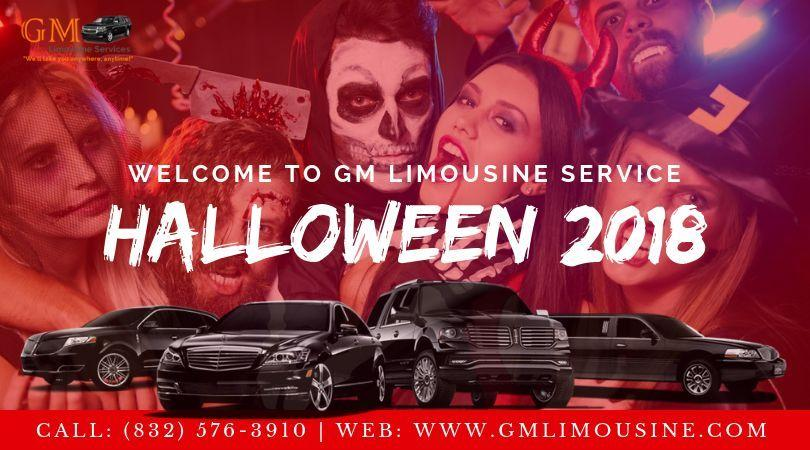 limo service for halloween party