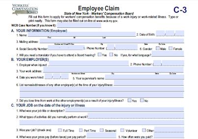 Workerscompensationemployeeclaim