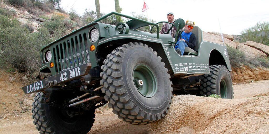 Big Willy Rock Crawling Header