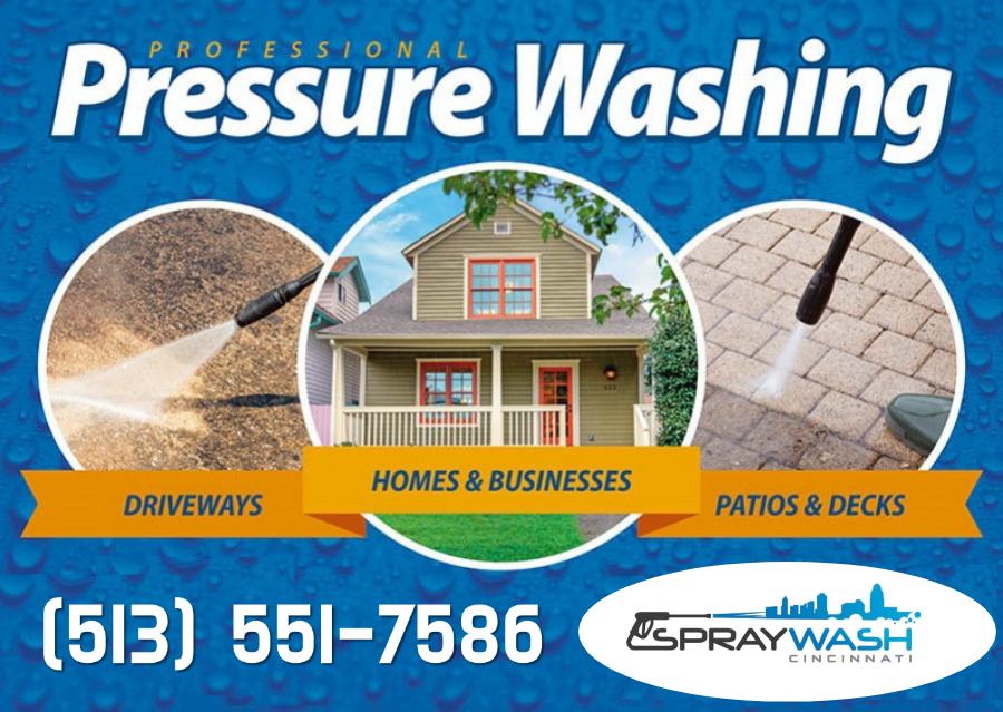 Spray Wash Cincinnati Power and Pressure Washing