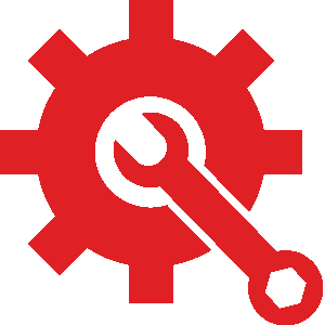 Cog Wheel and Wrench