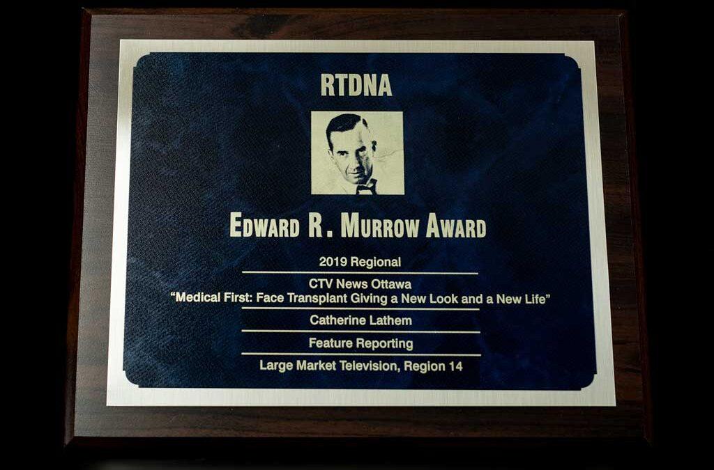 RTDNA Edward R. Murrow 2019 Regional Award Winner