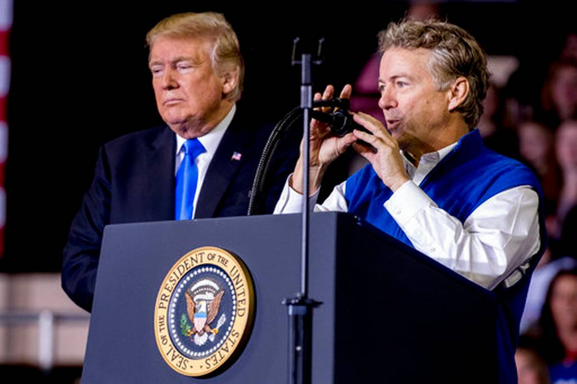 Rand Paul Insists There Was Voter Fraud in 2020 Election