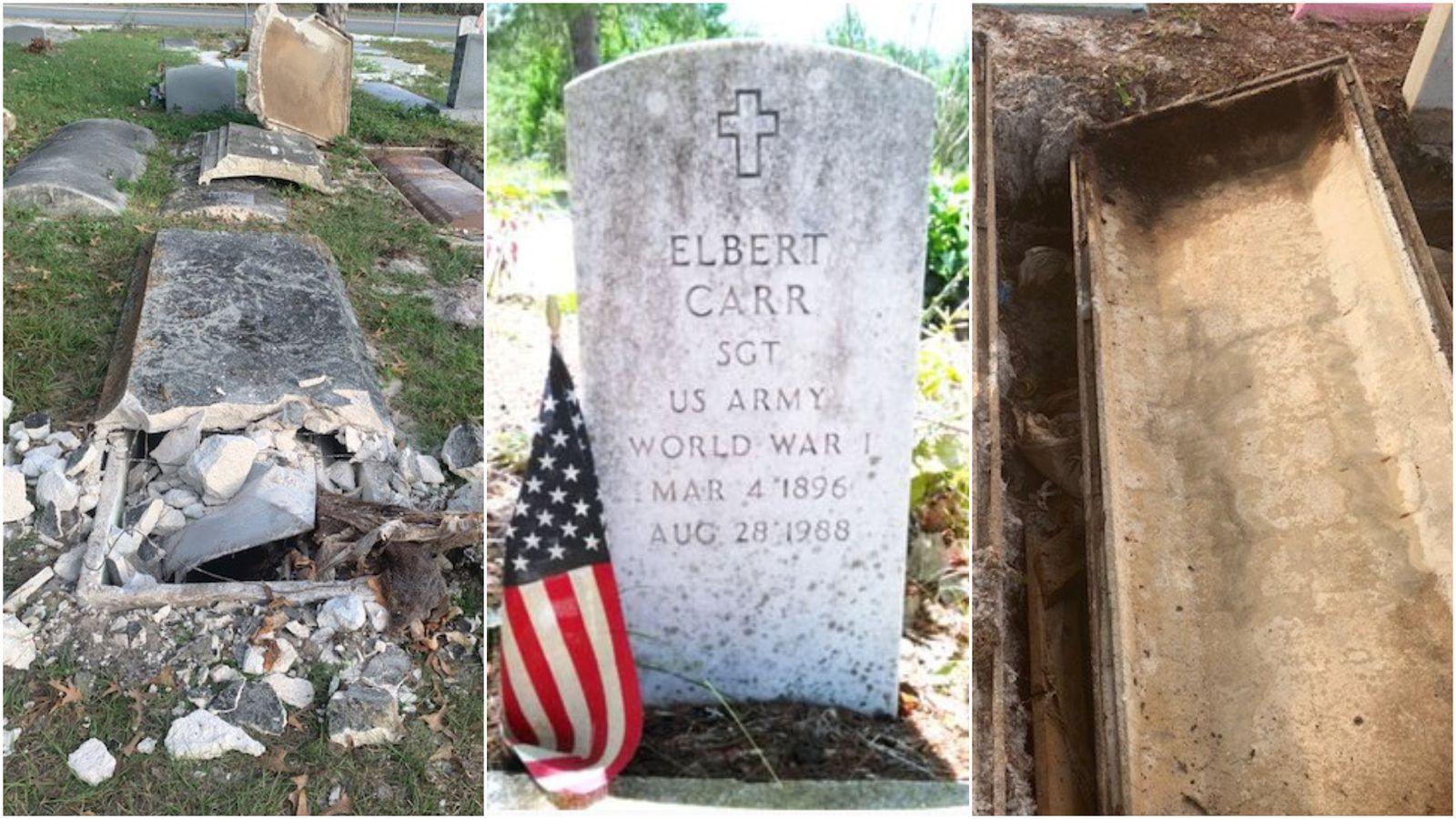 Florida Men Arrested for Robbing the Graves of Heroic Veterans