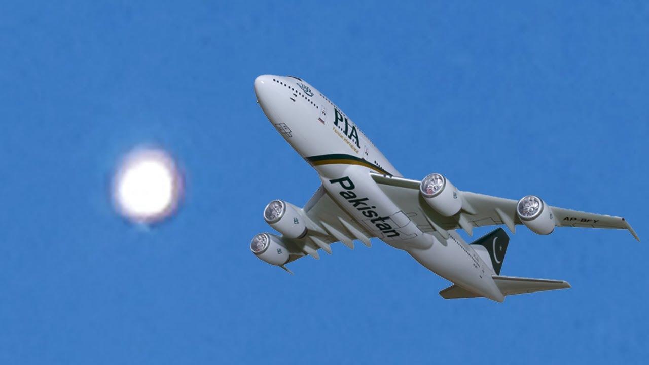 Pakistani Pilot Spots Bizarre UFO
