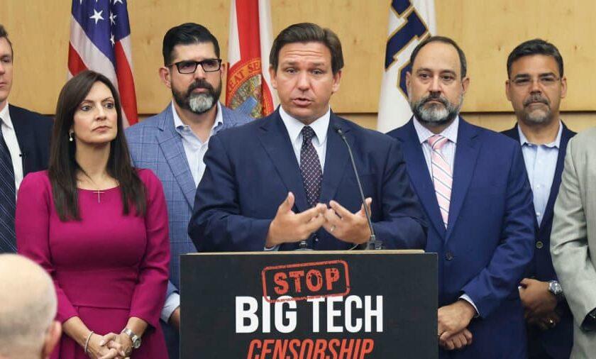 """Tech Companies Take Aim at Florida's """"Deplatforming Law"""""""