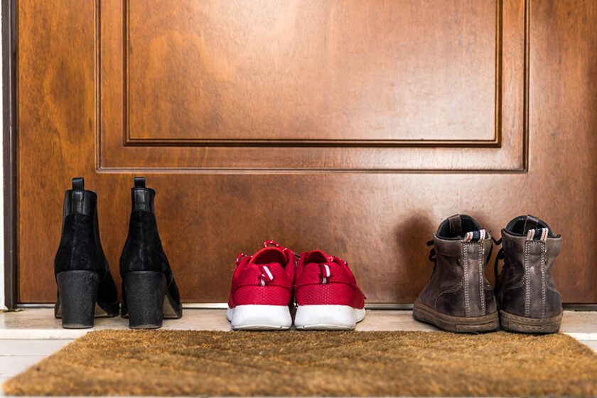 The Value of Tradition: Is There a Benefit from Taking Your Shoes Off When Entering a House