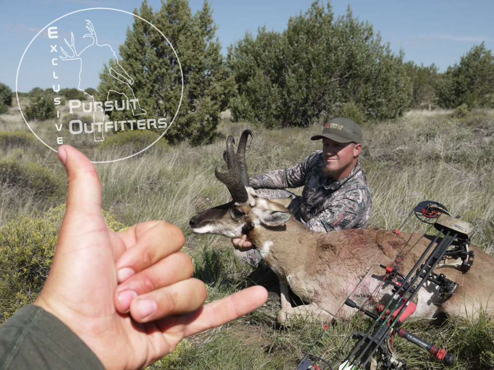 We were pretty happy to!  We love to help hunters achieve success!