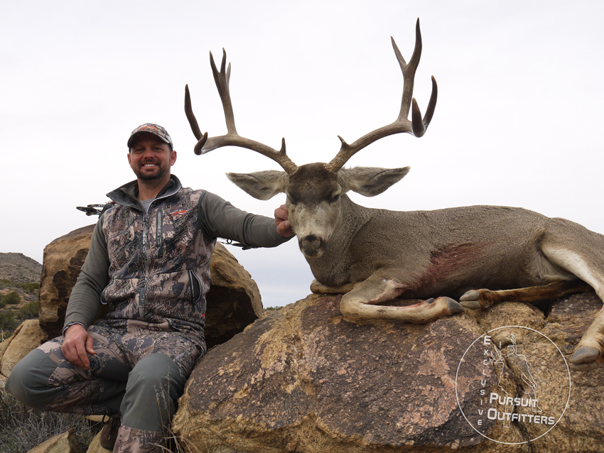 Troy's buck had awesome Shovel Beams & was 29 inches wide!