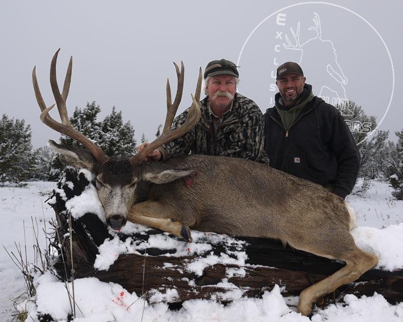 Jeff & Craig with the last day Arizona Strip Mule Deer.