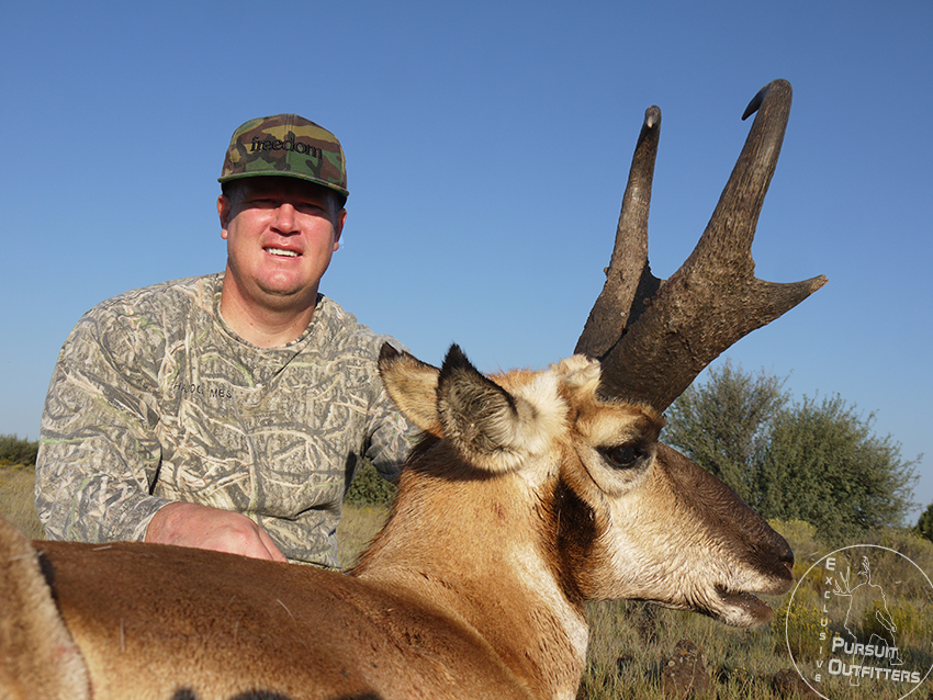 Shane with his giant AZ Pronghorn.