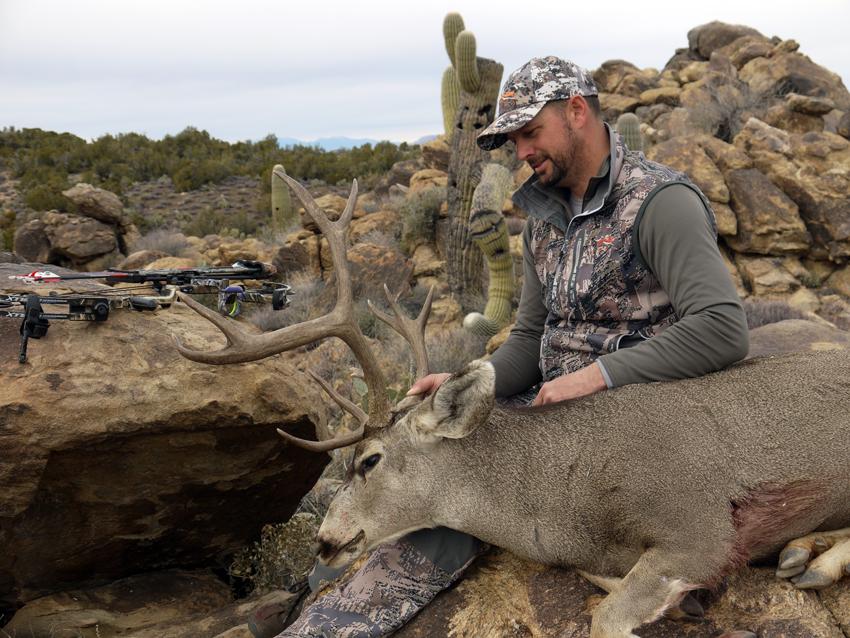 Archery Mule Deer Hunting in Arizona is something Troy looks forward to every year.