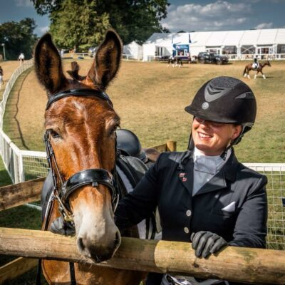 Monty Meets Mule & Wallace Finds Dressage
