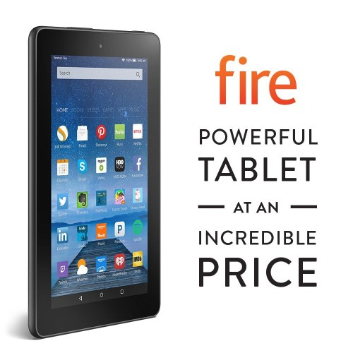 Amazon Fire 7 budget friendly Tablet