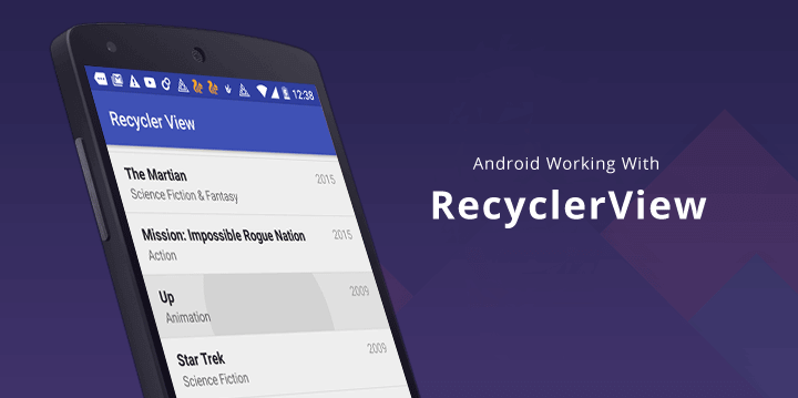 Reduce, Reuse, RecyclerView