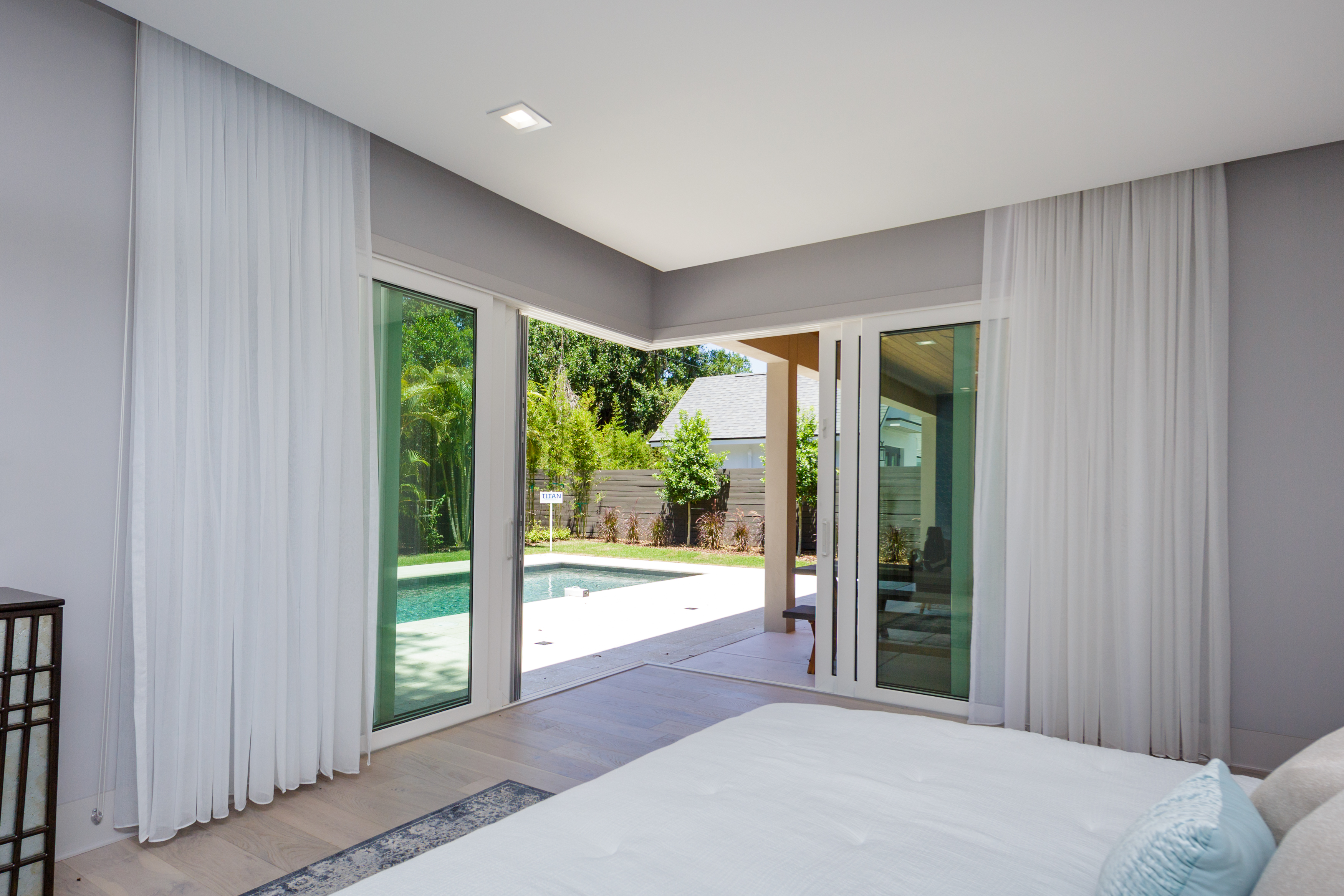 Grinnell Modern: Master Bedroom
