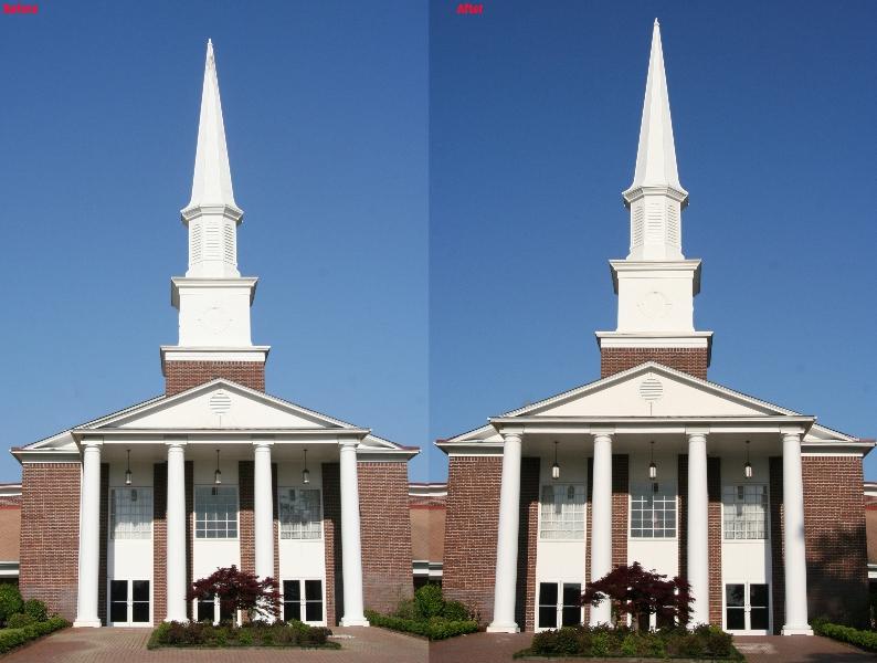 Church Steeple in Wilmington NC
