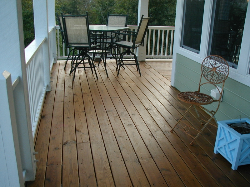 Stained Deck, Wilmington NC