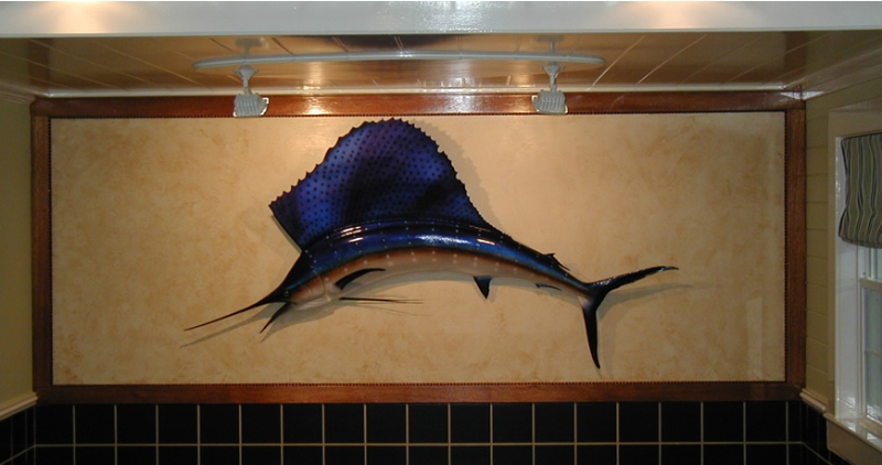 Sail Fish Display