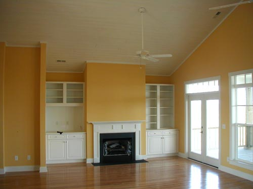 Interior Painting, Built Ins