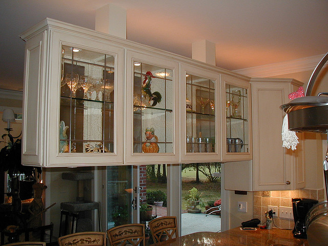 Cabinets Glass, Front