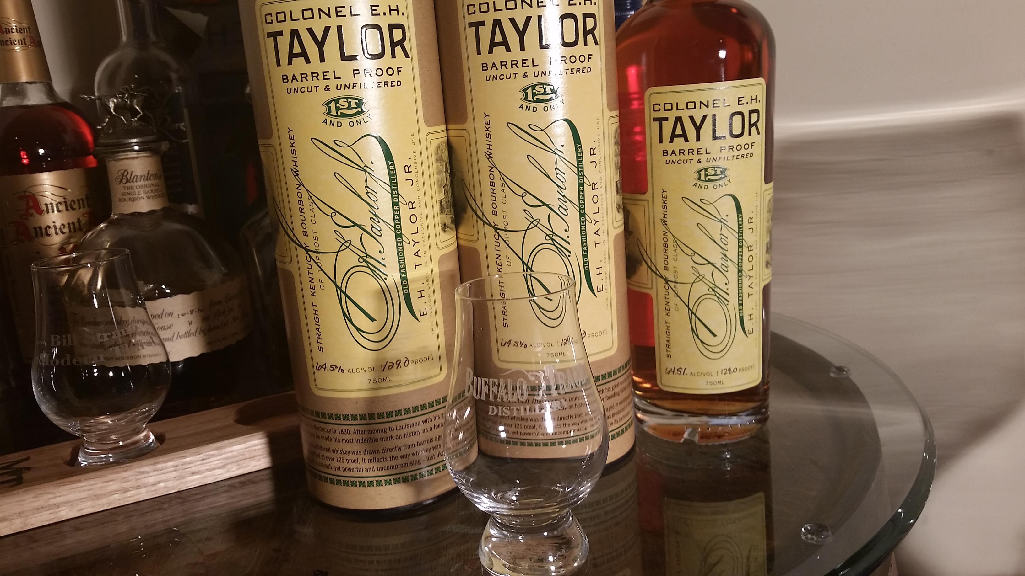 Bourbon Review: Colonel E  H  Taylor, Jr  Barrel Proof (2014