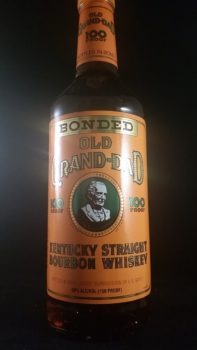 Old Grand Dad Bottled In Bond Bourbon Review Modernthirst