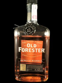 Old Forester Single Barrel Society selection - BBG