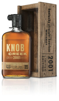 Knob Creek 2001_bottle with box