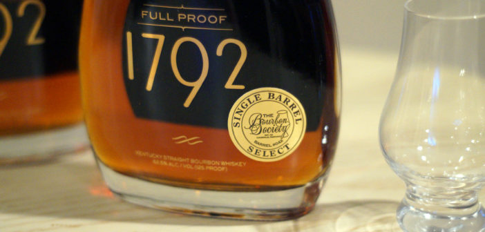 1792 Full Proof Single Barrel Review – The Bourbon Society Selection
